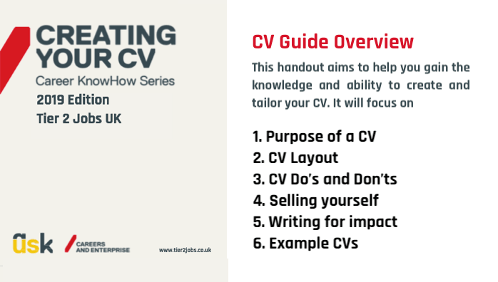 New UK CV Format